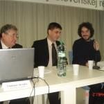 št. tajomník Branislav Ondruš MPSVaR  a prezident SAMP Ing. Vladimír Sirotka